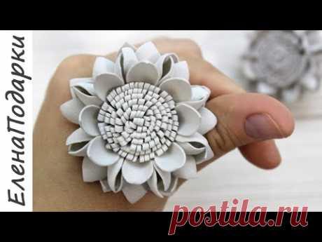🌸 ЦВЕТОК ИЗ ФОАМИРАНА 🌸 EVA Foam Paper Flowers 🌸