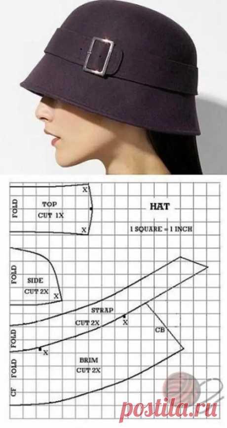 Выкройки элегантных шляпок - Сам себе мастер - медиаплатформа МирТесен