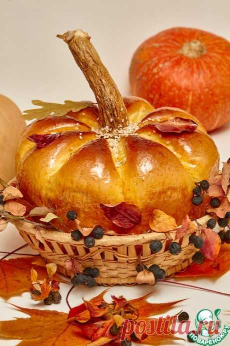"Хлеб ""Осенняя тыква"" – кулинарный рецепт"