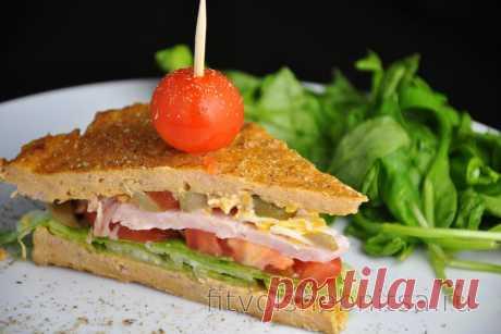 Безглютеновый сэндвич с тунцом