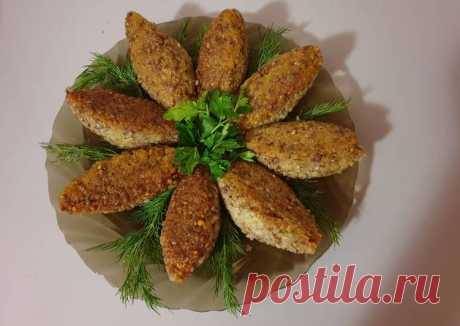 (4) Котлеты из гречневой каши с картофелем