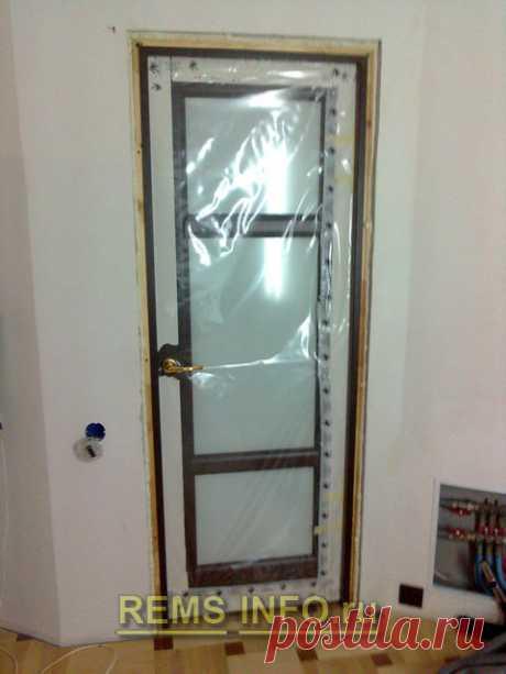 Самостоятельная установка двери. Пошаговая инструкция — Самострой