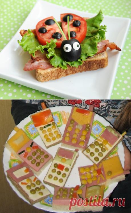 10+ Бутербродов на день рождения и когда просто хочется праздника. Порадуйте себя и всоих деток!