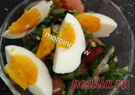 (5) Салат деревенский - пошаговый рецепт с фото. Автор рецепта лейла - Morninq_dew . - Cookpad