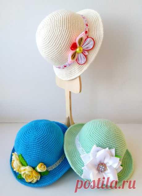 Небольшой мастер-класс шляпки на куклу