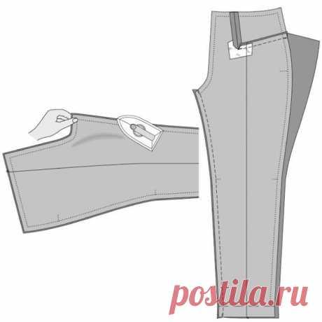 Последовательность пошива брюк. Очень подробно (Шитье и крой) – Журнал Вдохновение Рукодельницы