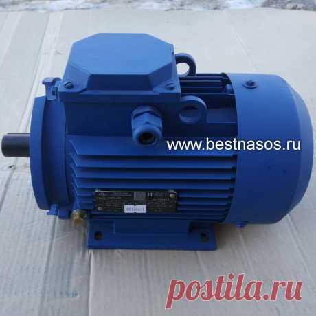 Электродвигатель для Бурун СХ 6/4-1,5/4 винтовому насосу 1,5 кВт, 1500 оборотов в минуту, запчасть в наличии