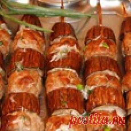 Сувлаки кебаб с баклажанами Кулинарный рецепт