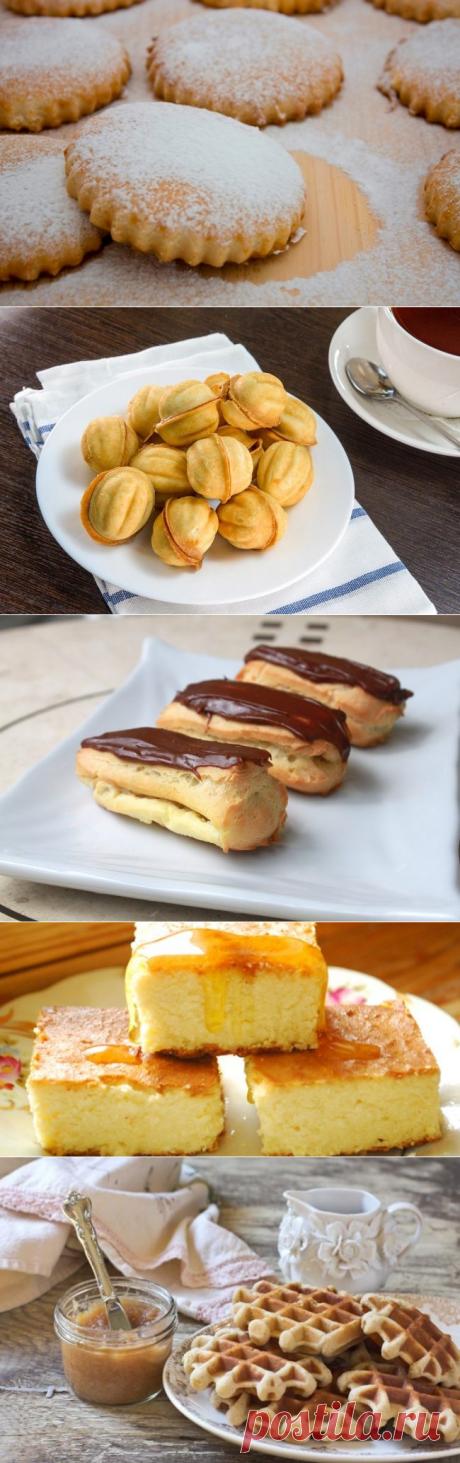 5 десертов из детства