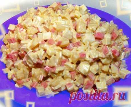Очень вкусный салат «Оригинальный»: готовится за 10 минут! | Вкусняшки | Яндекс Дзен