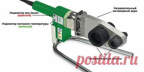 Сварка полипропиленовых труб: монтаж с помощью аппарата своими руками