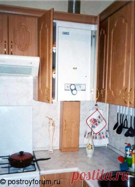 дизайн кухни с газовой колонкой - Поиск в Google