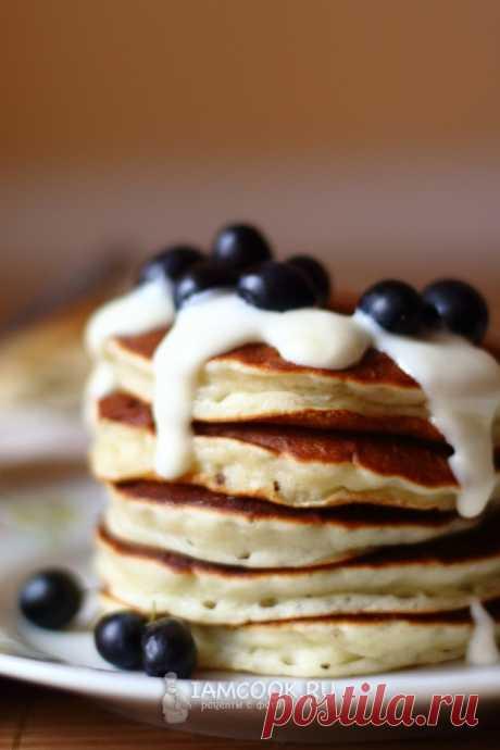 Панкейки на кислом молоке — рецепт с пошаговыми фото и видео