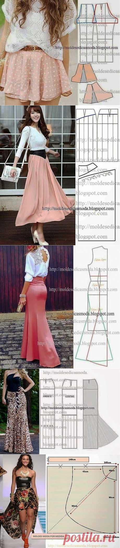 Summer skirts. Patterns | Skilful handles
