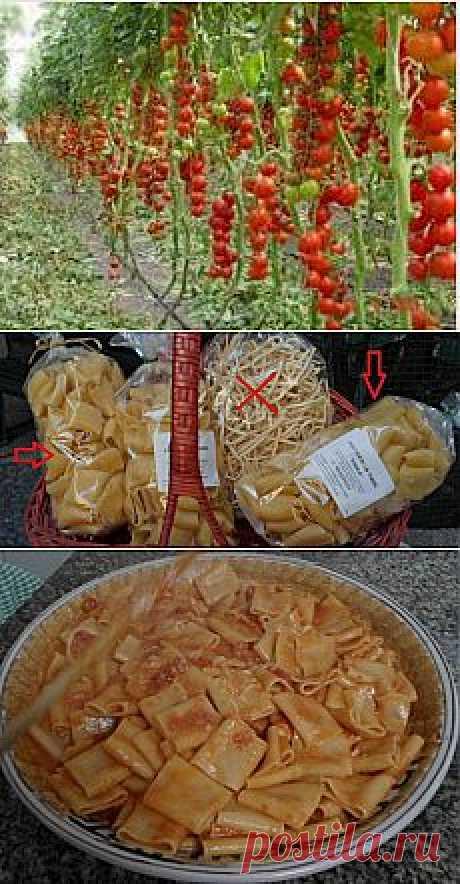 Рецепт. =Паста Соррентана=. Готовим макароны по-итальянски!.
