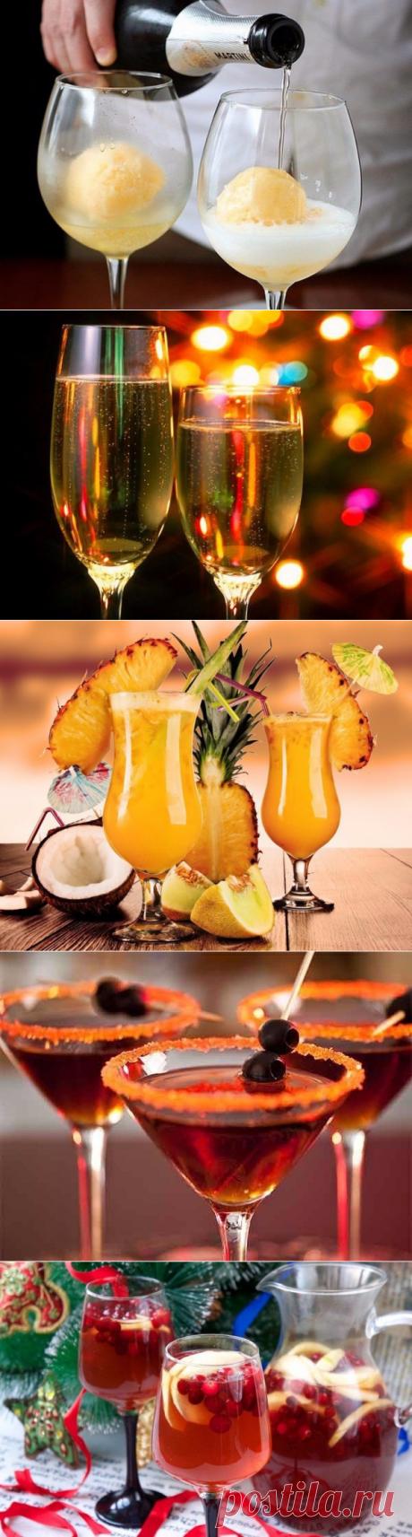 ТОП-5 лучших коктейлей.