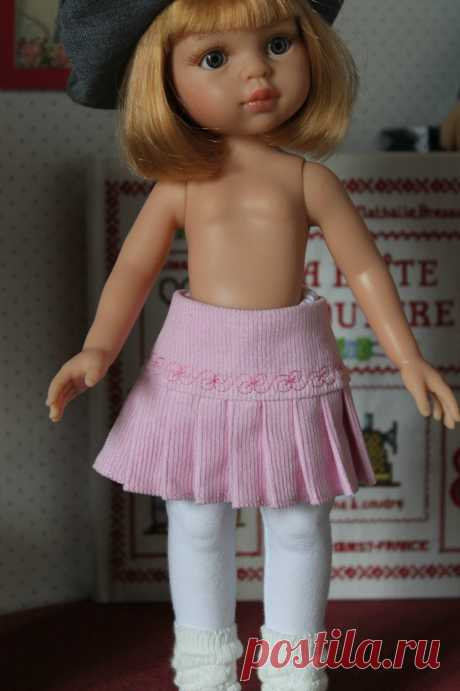 № 9 Patron юбка в складку - Фото Мои боссы для Cheries, minouches и Маленький Darlings - Моя маленькая швейная школы ...