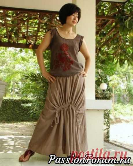 Тайская юбка в стиле Бохо