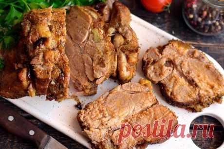 Буженина из свинины в духовке Готовим вкусную буженину из свинины в духовке. Запекаем ее в специальном рукаве, так она сохранит все соки, будет мягкой и сочной. Для необходимой плотности мясо … Читай дальше на сайте. Жми подробнее ➡