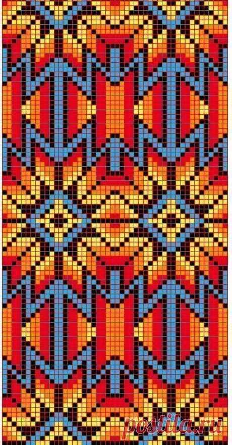 Этнические мотивы в плетении бисером — DIYIdeas