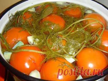 Мои старые испоробованные рецепты. Соленые красные помидоры.