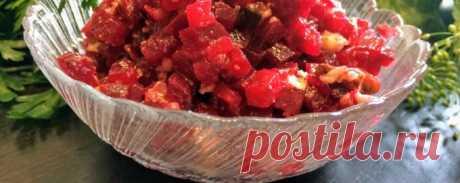 Салат с грецким орехом - Диетический рецепт ПП с фото и видео - Калорийность БЖУ