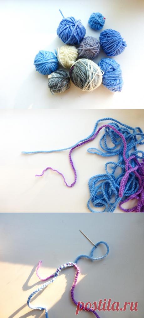 Делаем новую пряжу из остатков - Ярмарка Мастеров - ручная работа, handmade