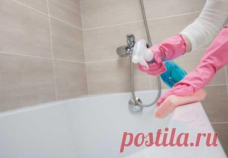Как легко и эффективно очистить ванну Удивительно простой способ очистки ванны без дорогостоящих средств и изнурительных процедур.