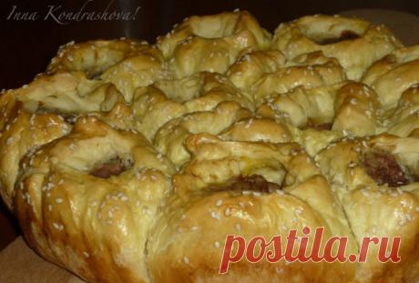 Порционный мясной пирог - просто, вкусно, удобно!