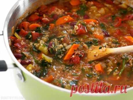 Рецепт вкусного супа, который избавит от дефицита белка и лишнего веса.( Для тех, кому за 50) » Кулинарный сайт