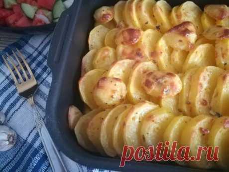 Картофель под яично-майонезным соусом — Sloosh – кулинарные рецепты