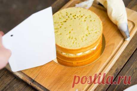 Базовый бисквитный торт с пошаговыми секретами оформления | Andy Chef (Энди Шеф) — блог о еде и путешествиях, пошаговые рецепты, интернет-магазин для кондитеров |