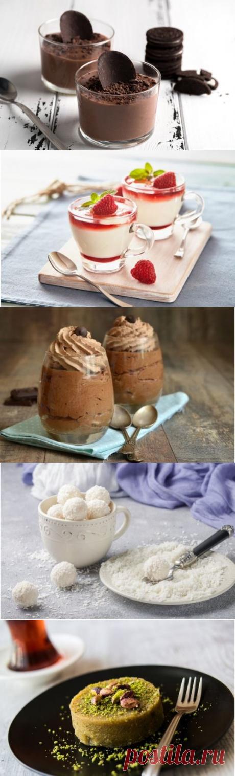 Чаепитие в стиле минимализма: 8 изысканных десертов всего из 3 ингредиентов