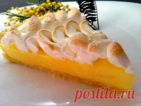 Быстрый лимонный пирог | Четыре вкуса