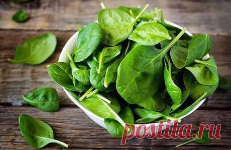 ПОЧЕМУ ПОЛЕЗНО ЕСТЬ ШПИНАТ.  Польза шпината обусловлена составом этого овоща, в который входят: полезнейший фолат (отвечающий за нормальное развитие клеток тканей и крови), витамин С, провитамин А, калий, магний, витамин К и каротиноиды.  1). Благодаря каротиноидам, шпинат не только сохраняет острое зрение на долгие годы. Вместе с витамином К, эти вещества предотвращают разрушение костной ткани.  2). Фолат, входящий в состав шпината, оказывает влияние на процесс кроветворе...