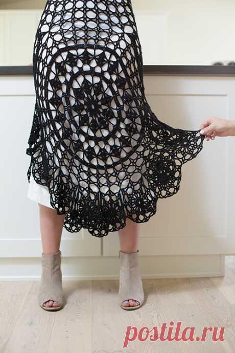 Nightshade Crochet Skirt Pattern | Crochetme