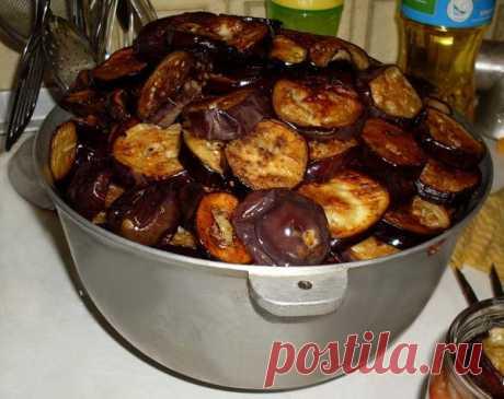 Рецепт закуски из баклажанов - заготовка на зиму