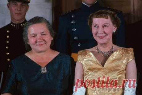 Какой мир увидел «первую леди» СССР в 1959 году