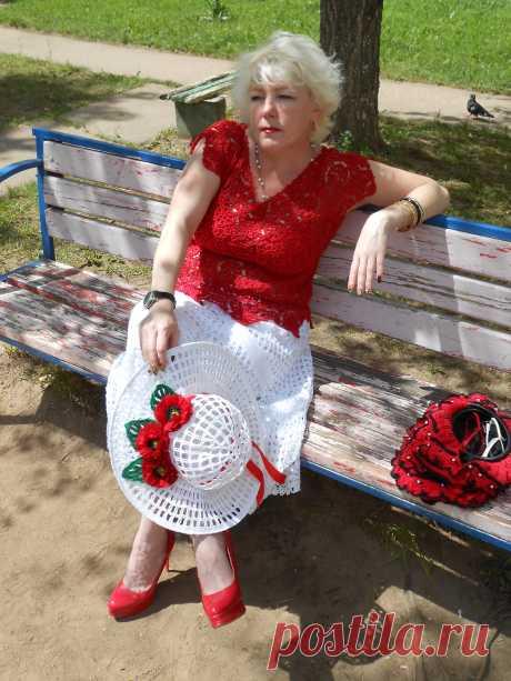 Анна Сафронова МАГИЯ АЖУРА(вязание на заказ,крючок)