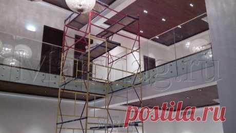 Лестницы, ограждения, перила из стекла, дерева, металла Маршаг – Ограждений второго света монтаж