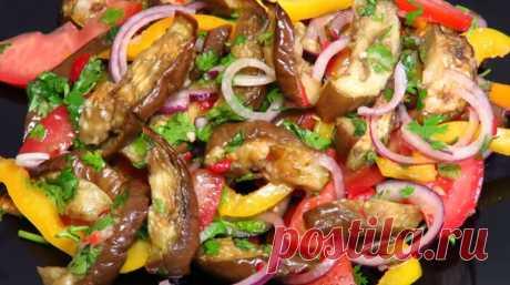 Восхитительный салат из баклажанов: простой, полезный и вкусный Восхитительный салат из баклажанов – это невероятно вкусное и полезное блюдо, которое можно приготовить за несколько минут. Баклажаны мы будем