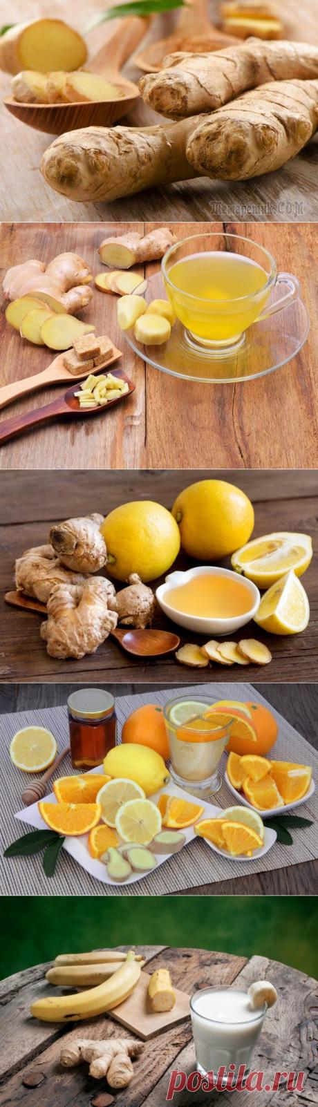 Имбирь для похудения — Рецепты. Самый действующий способ