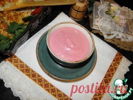 Свекольный соус – кулинарный рецепт