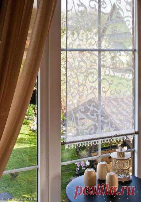 Декоративная панель-занавеска для металлопластиковых окон. Отличная идея! Как сшить занавески, которых больше ни у кого не будет и которые не продаются в магазинах?