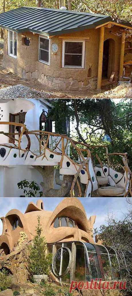 Дачные дома из глины: экономичное и экологичное решение