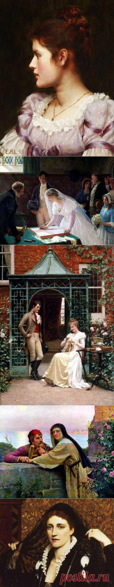 Английский художник Эдмунд Блэр Лейтон (1853-1922)