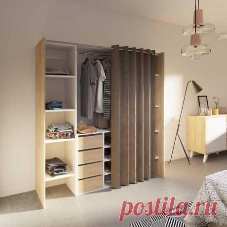Как сделать в маленькой квартире гардеробную / Домоседы