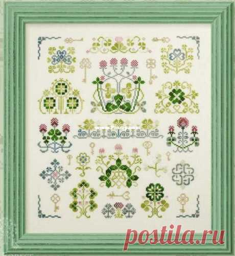 Owlforest - The Duke Of Clover XSD-Cross stitch Communication / Download (Cant post new thread only reply)-Cross stitch Patterns Repaint-PinDIY