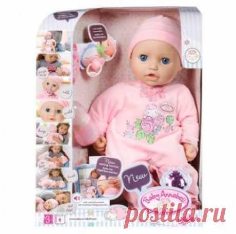 Бэби Аннабель Кукла-девочка многофункциональная, 43 см Zapf Creation Baby Annabell 794-821