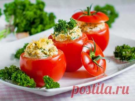 Фаршированные помидоры — рецепты праздничного стола! — Фактор Вкуса